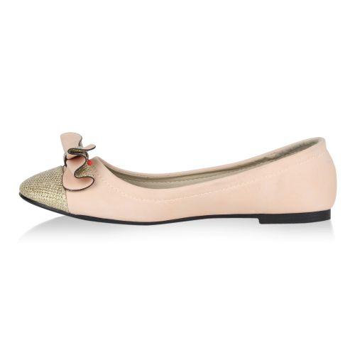 Damen Ballerinas - Rosa - Doncaster
