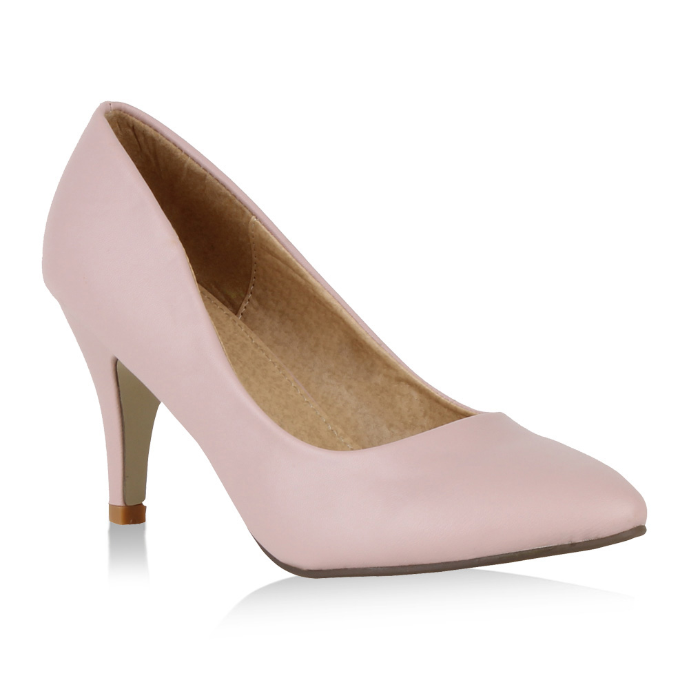 Damen Pumps High Heels - Rosa - Wilburton