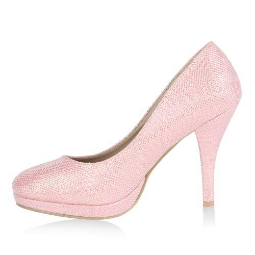 Damen Pumps High Heels - Rosa - Wentworth