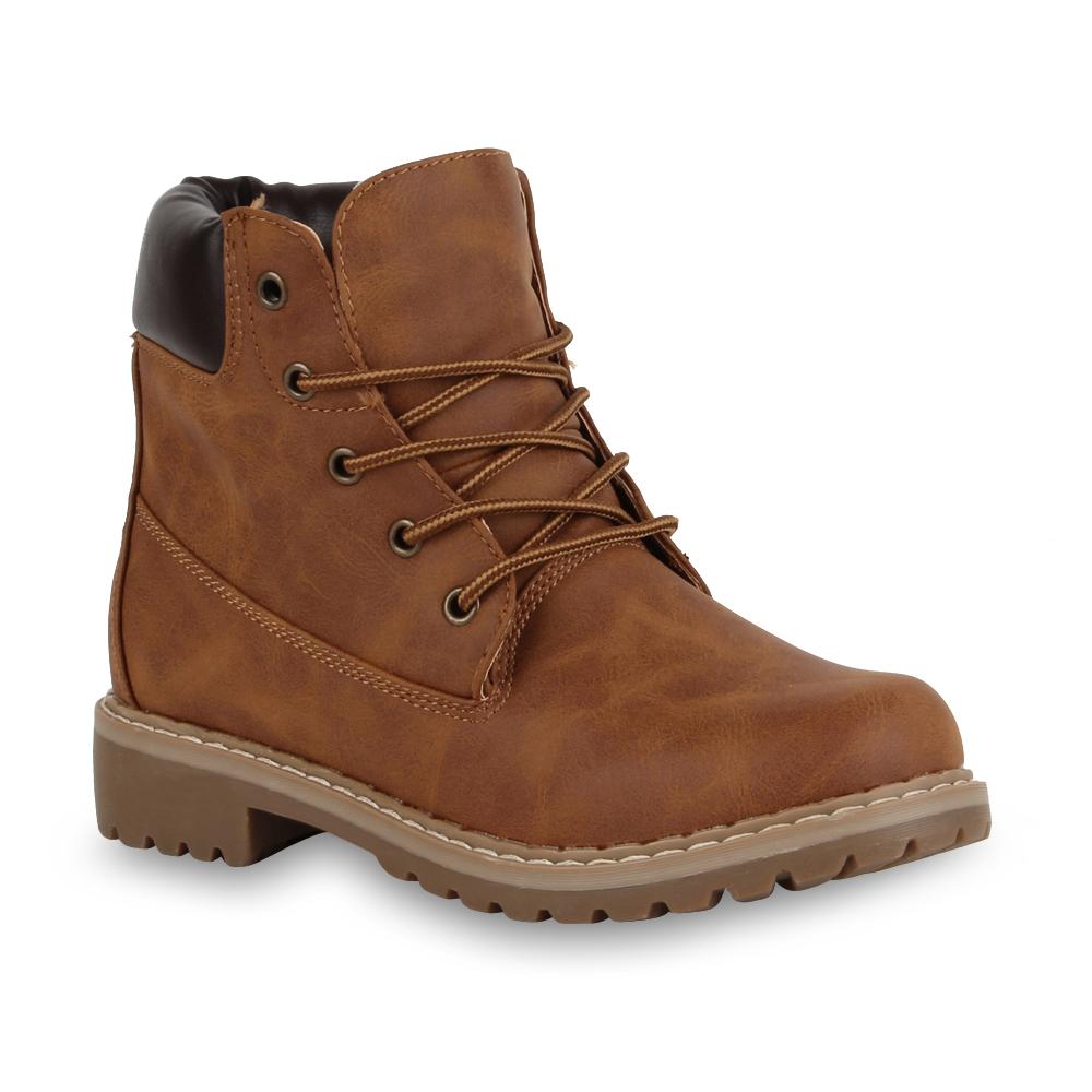 Damen Stiefeletten Outdoor Boots - Braun