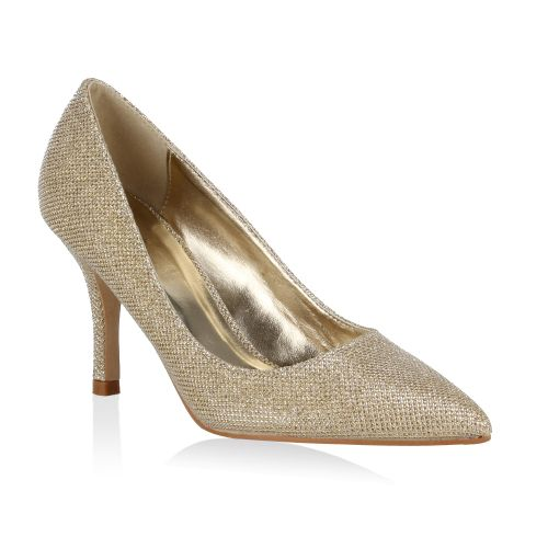 Damen Pumps Klassische Pumps - Gold