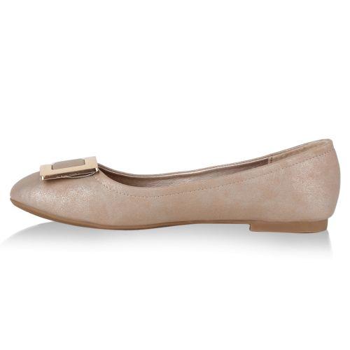 Damen Ballerinas - Rosa - Marlow