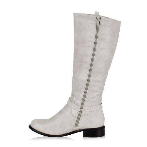 Damen Stiefel Klassische Stiefel - Weiß