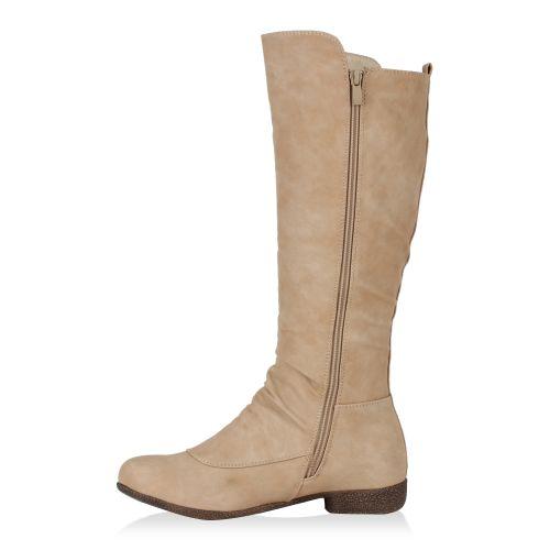 Damen Stiefel Klassische Stiefel - Beige