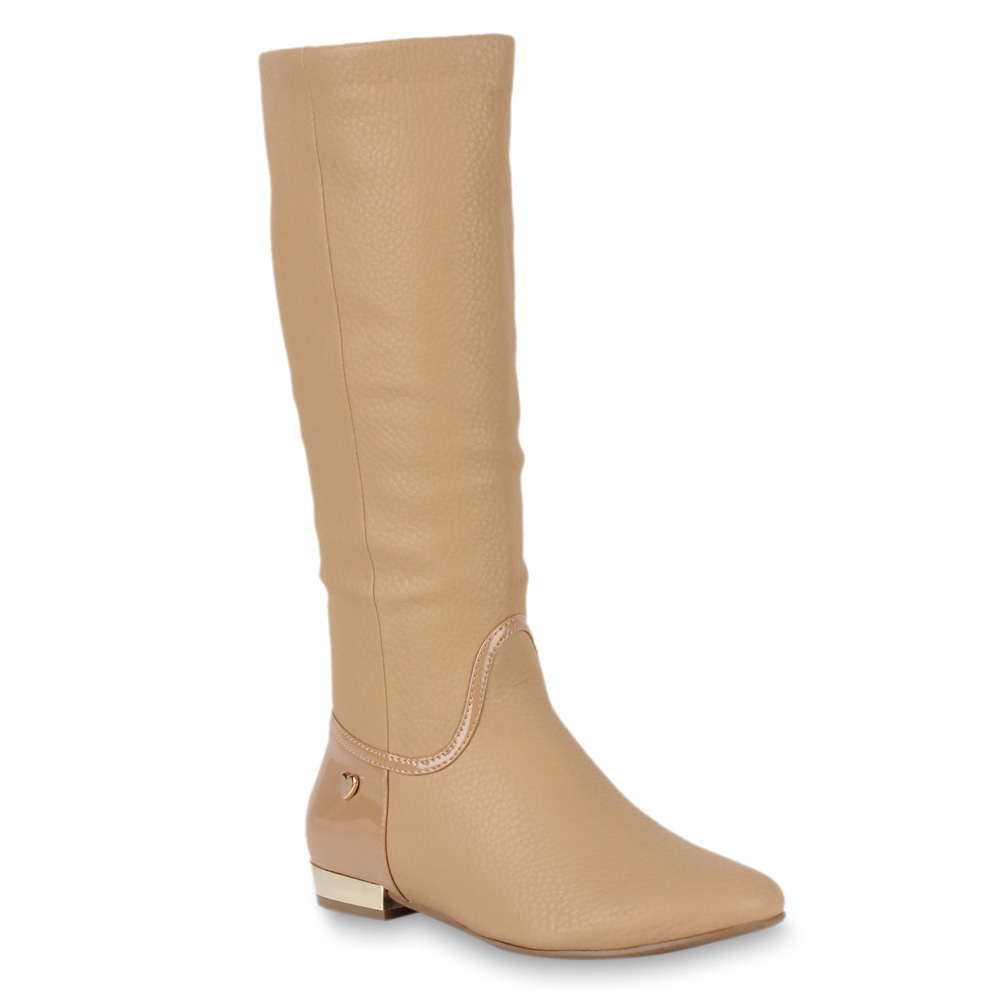 Damen Stiefel Klassische Stiefel - Creme