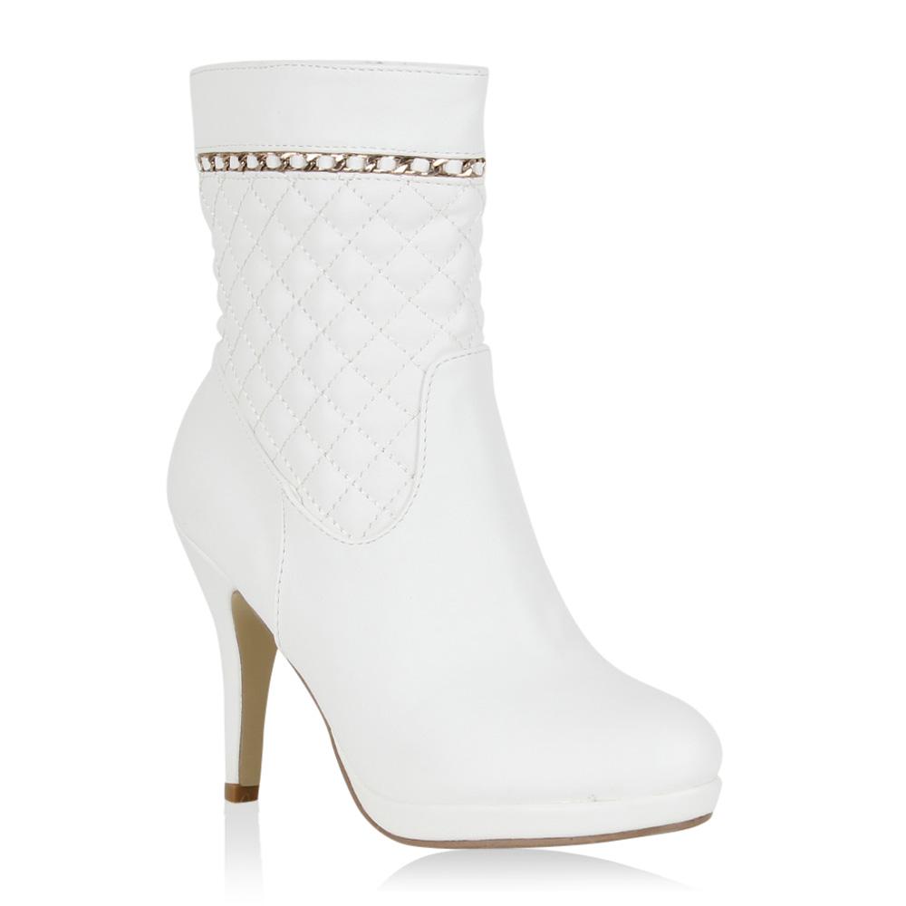 Damen Stiefeletten Klassische Stiefeletten - Weiß