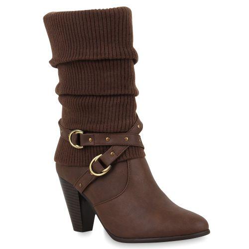 Damen Klassische Stiefel - Dunkelbraun