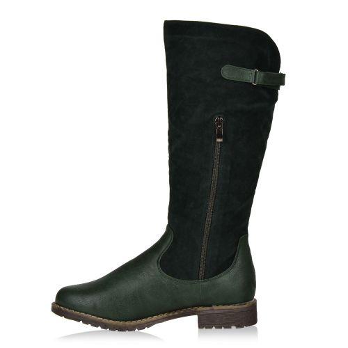 Damen Stiefel Klassische Stiefel - Dunkelgrün