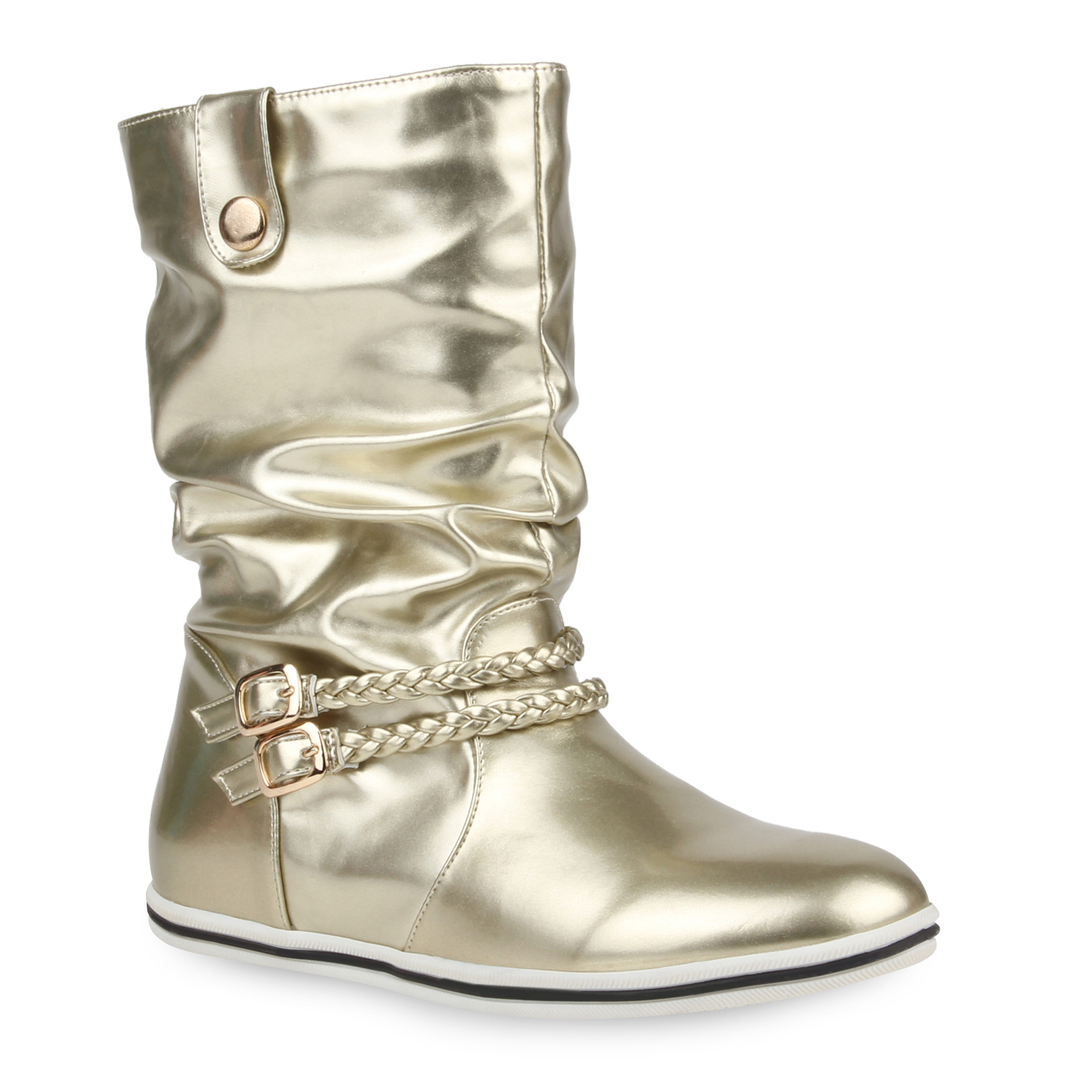 3ff6245749df08 Damen Stiefeletten in Gold (99811-155) - stiefelparadies.de