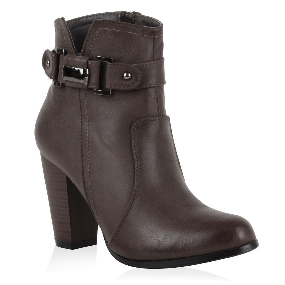 Damen Klassische Stiefeletten - Grau