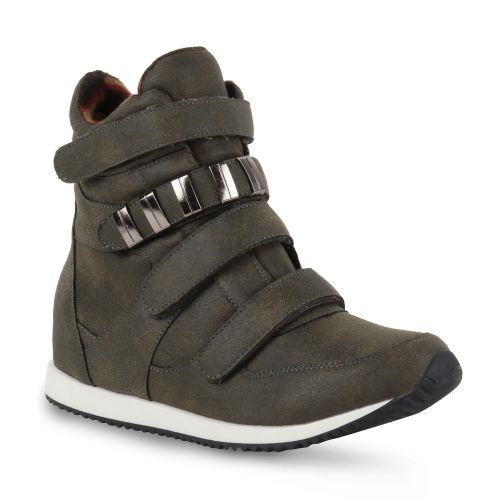 Damen Sneaker high - Grün