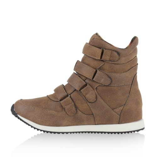 Damen Sneaker high - Khaki