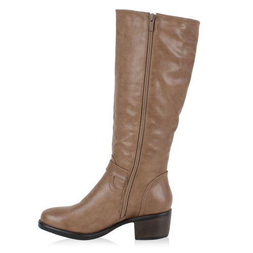 Damen Stiefel Klassische Stiefel - Taupe