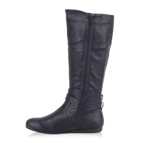 Damen Stiefel Klassische Stiefel - Dunkelblau