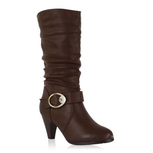 Damen Klassische Stiefel - Mokka