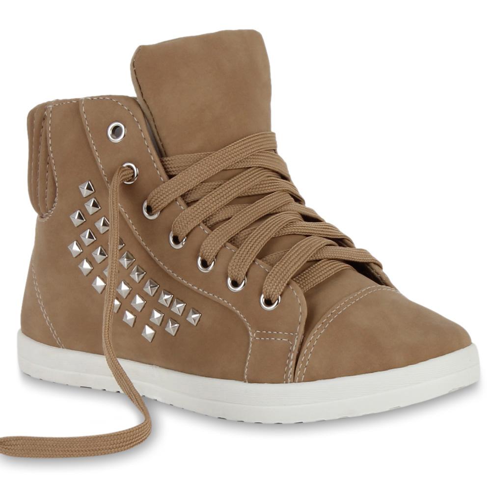 Damen Sneaker high - Khaki