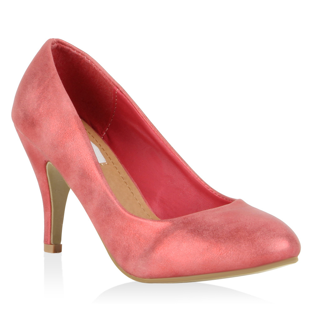 Damen Pumps High Heels - Rosa - Santa Paula
