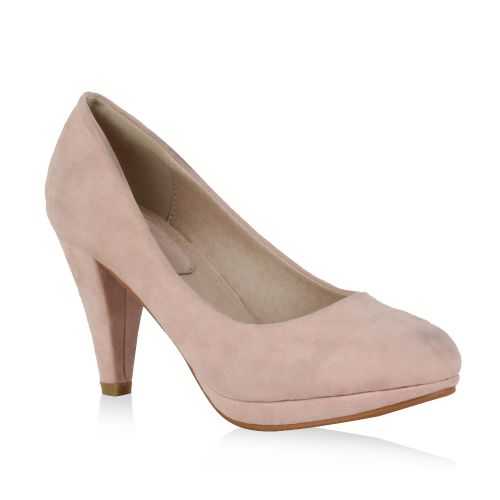 Damen Pumps High Heels - Rosa - Fenton