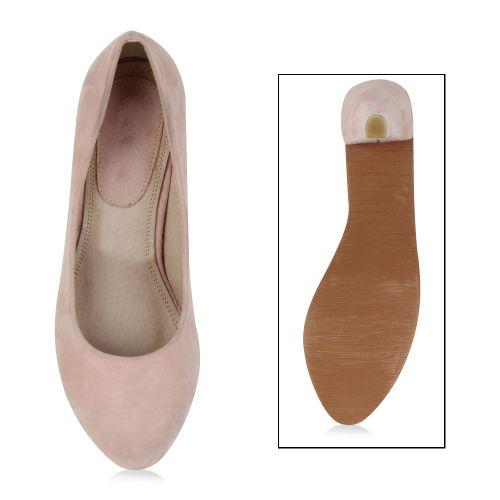 Damen Pumps High Heels - Rosa - Fenton