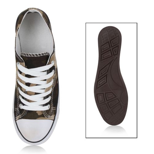 Damen Sneaker high - Camouflage