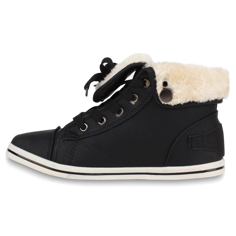warme damen sneakers winter sportschuhe 98722 schn rer gef ttert 36 41 new look ebay. Black Bedroom Furniture Sets. Home Design Ideas