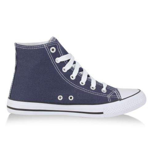 Damen Sneaker high Blau