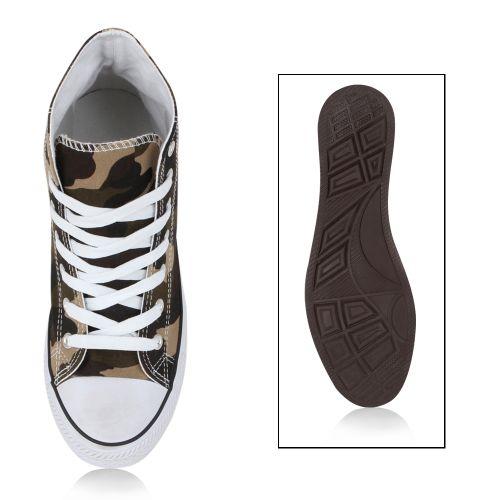 Damen Sneaker high - Camouflage