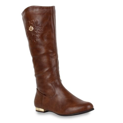 Damen Stiefel Klassische Stiefel - Coffee