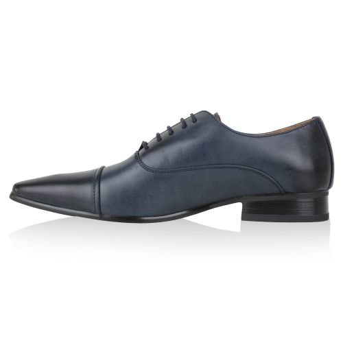 Herren Business Klassische Schnürer - Blau