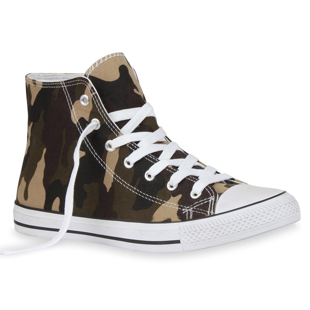 Herren Sneaker high - Camouflage