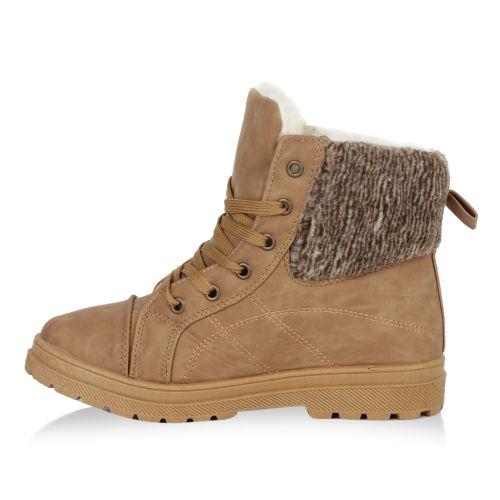 Damen Stiefeletten Outdoor Schuhe - Hellbraun