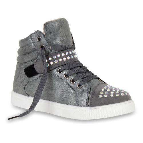 Damen Sneaker high - Grau