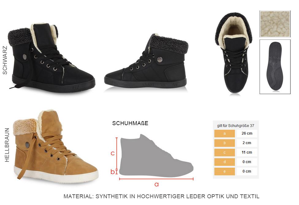 Details zu Warm Gefütterte Damen Sneakers Winter Sportschuhe 98980 36 41 Stylisch Schuhe