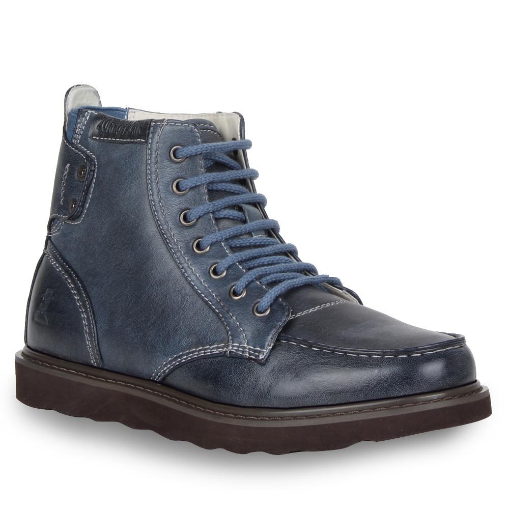 Herren Boots Worker Boots - Blau