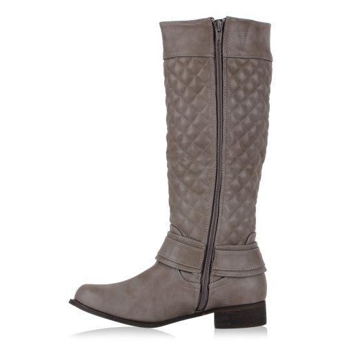 Damen Stiefel Klassische Stiefel - Grau