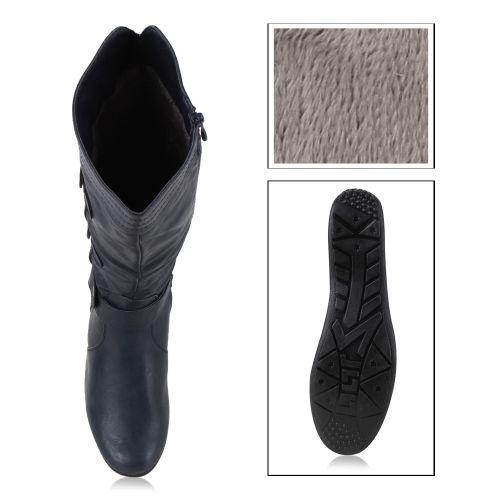 Damen Stiefel Klassische Stiefel - Blau