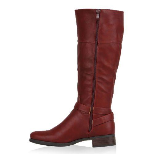 Damen Stiefel Klassische Stiefel - Rot