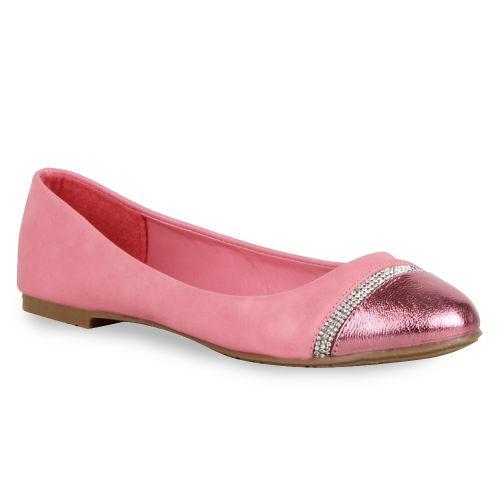 Damen Ballerinas Klassische Ballerinas - Rosa - Milford Mill
