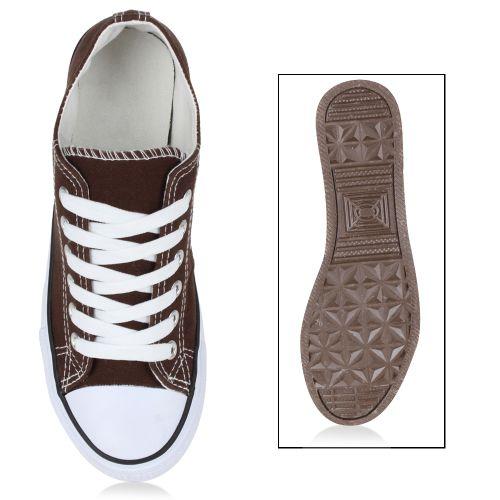 Damen Sneaker low - Braun