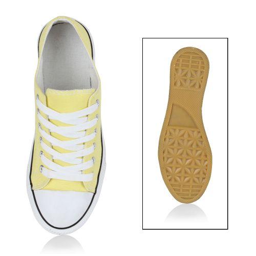 Damen Gelb Low Sneaker Damen Sneaker Damen Damen Gelb Low Sneaker Sneaker Low Gelb r5WA1qxHwr