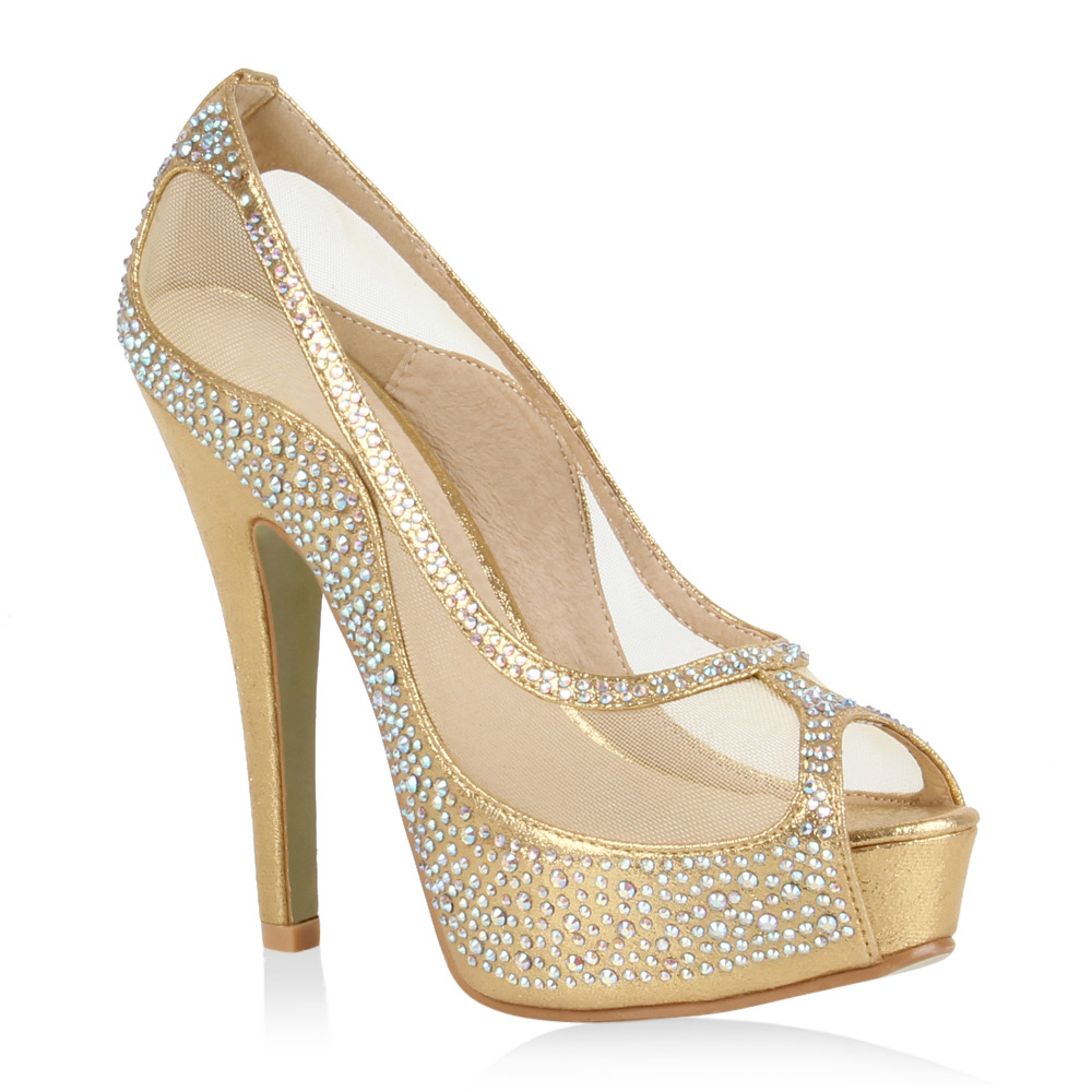 Damen Pumps Plateau Pumps - Gold