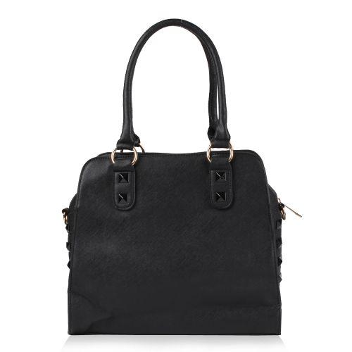 Damen Schulter Tasche - Schwarz