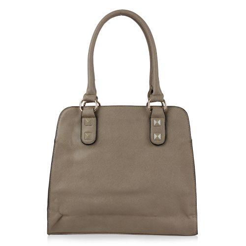 Damen Schulter Tasche - Khaki