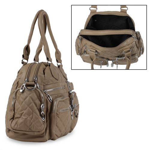 Damen Shopper - Khaki
