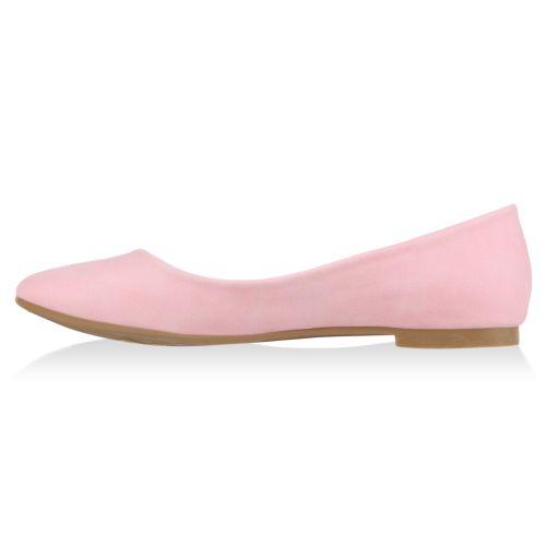 Damen Ballerinas Klassische Ballerinas - Rosa - Barbate
