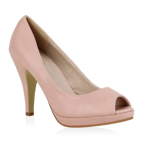 Damen Pumps Plateau Pumps - Rosa - Belington