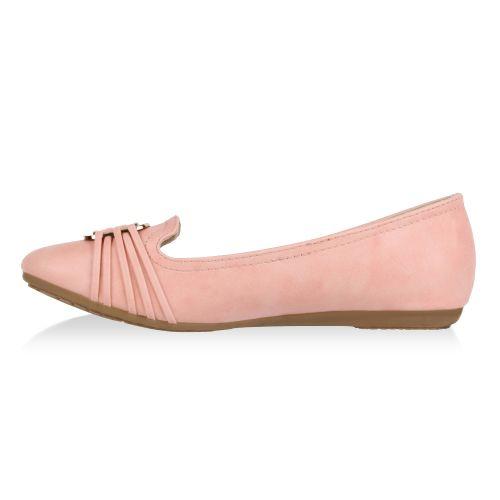Damen Ballerinas Klassische Ballerinas - Rosa - Hawthorne