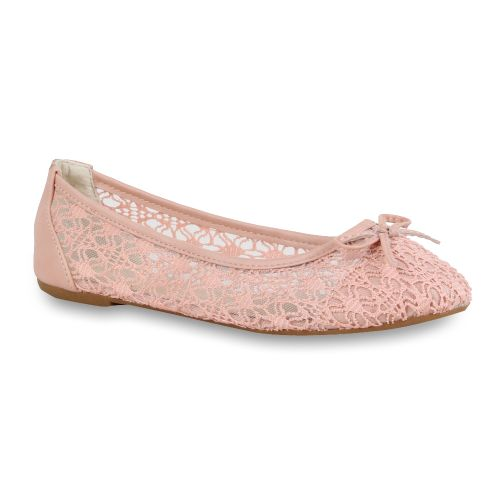 Damen Ballerinas Klassische Ballerinas - Rosa - Northglenn