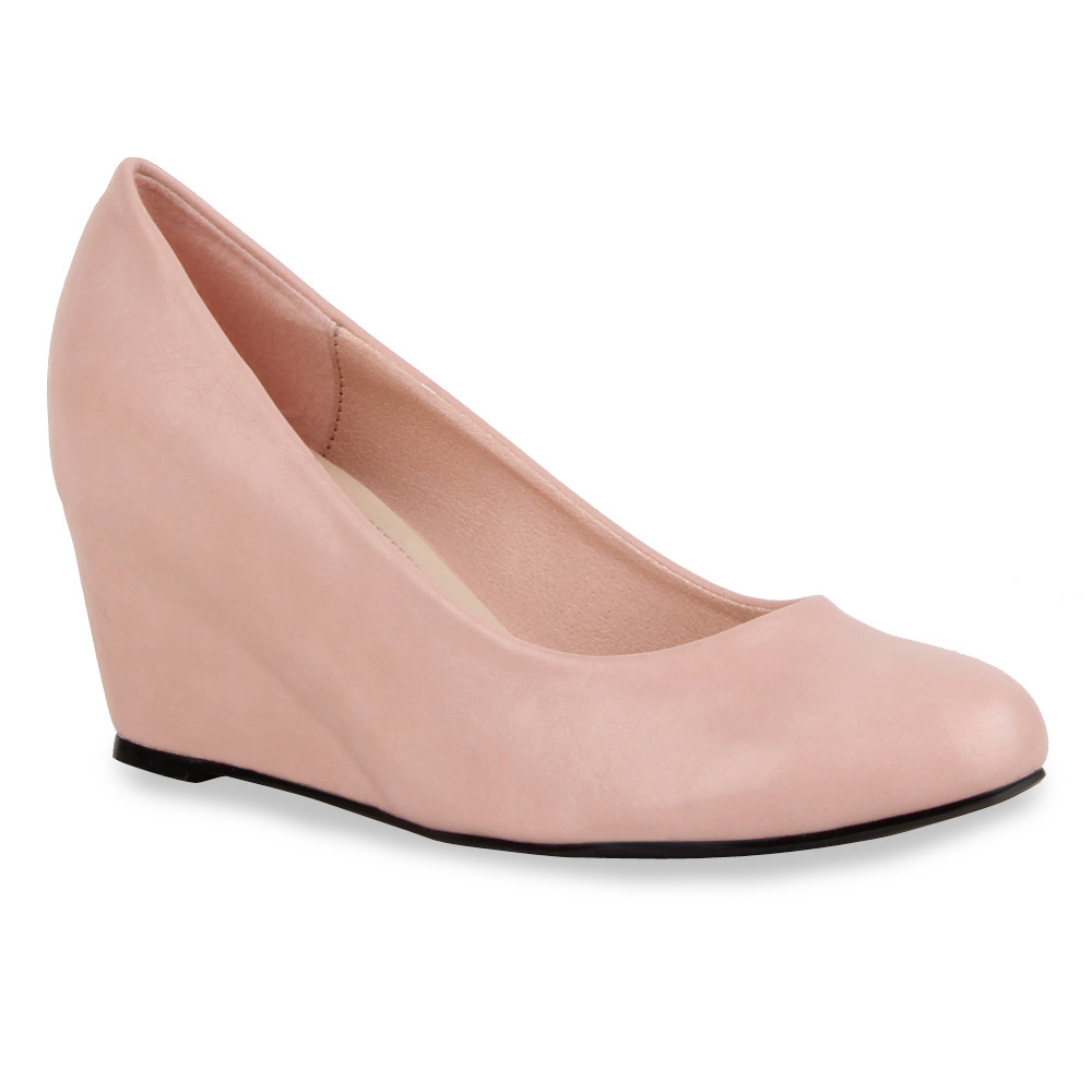 Damen Pumps Keilpumps - Rosa - Kennebunk
