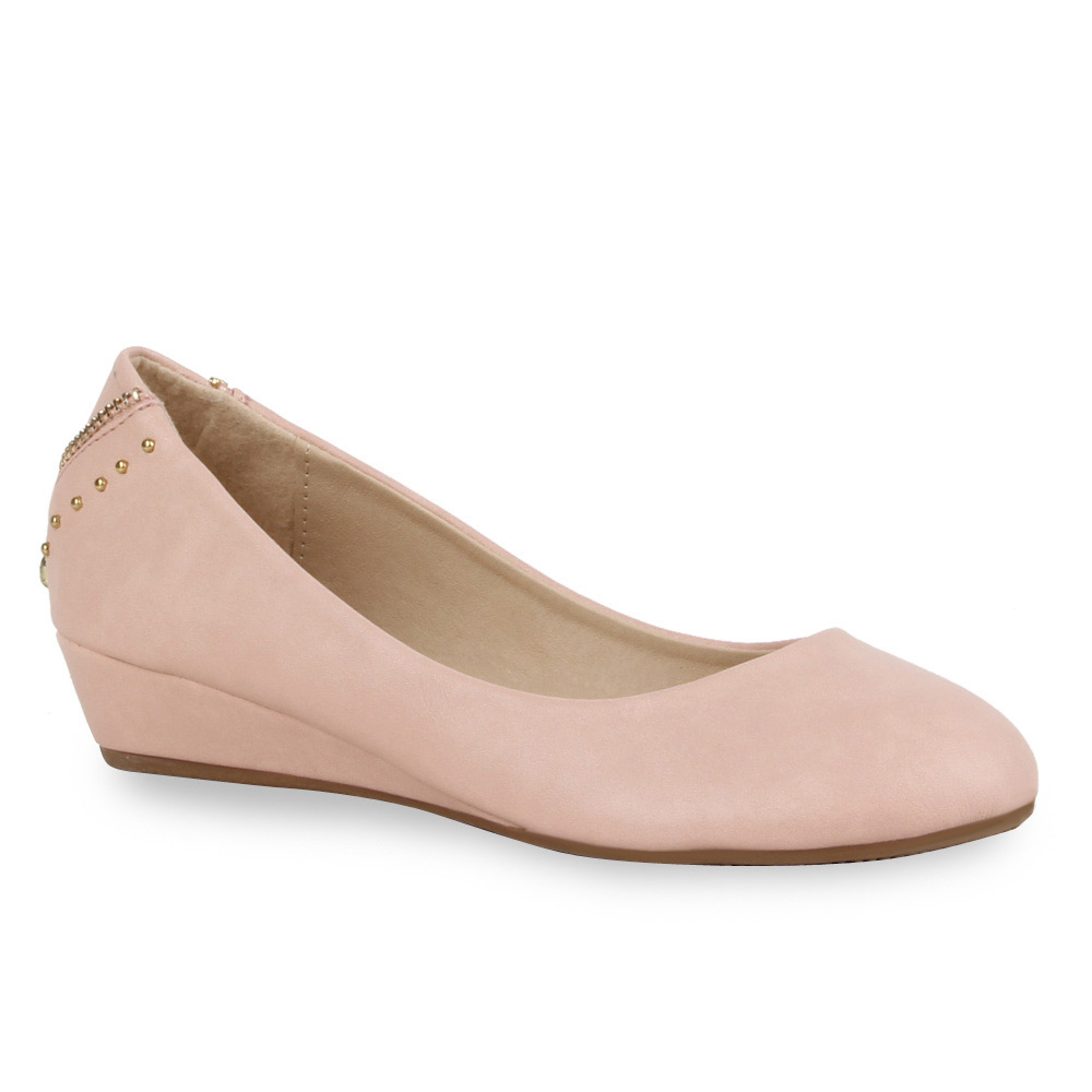 Damen Pumps Keilpumps - Rosa - Lipscomb